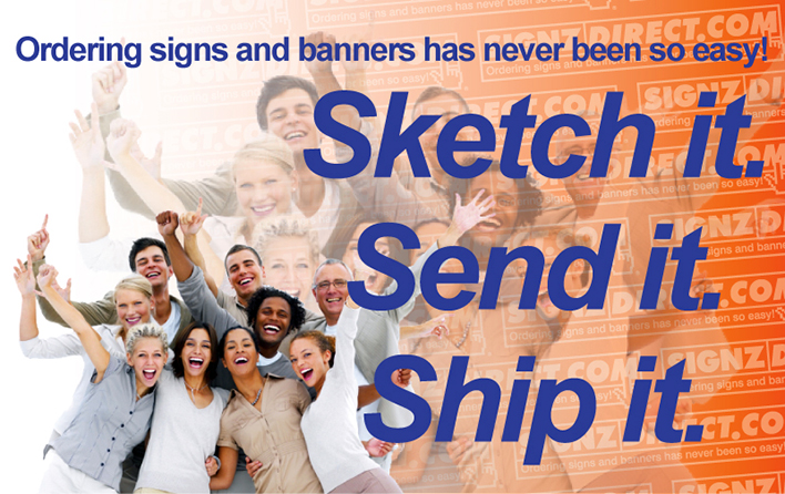 Happy Signzdirect customers.